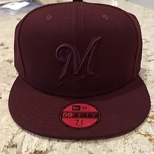 Milwaukee Brewers New Era Cap Fitted